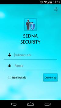 Sedna Security poster