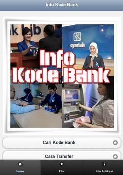 Info Kode Bank (ATM Bersama) apk screenshot