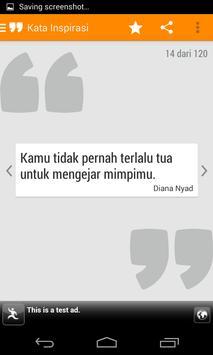 Kata Mutiara Motivasi poster