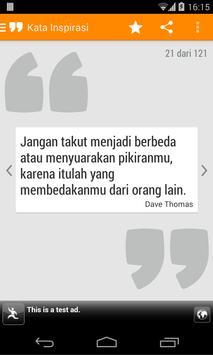 Kata Mutiara Motivasi apk screenshot