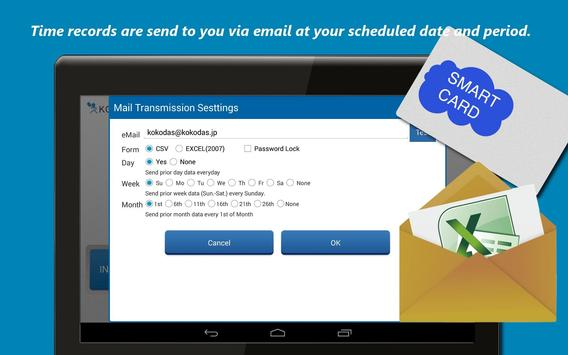 USB TimeClock  Free! apk screenshot