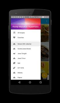 Resep Masakan Nusantara apk screenshot