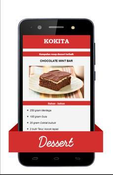 KOKITA - Aneka Resep Dessert poster