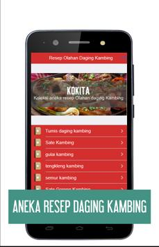 Resep Daging Kambing - KOKITA apk screenshot