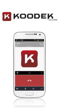"KoodeK ""Call me Now"" apk screenshot"