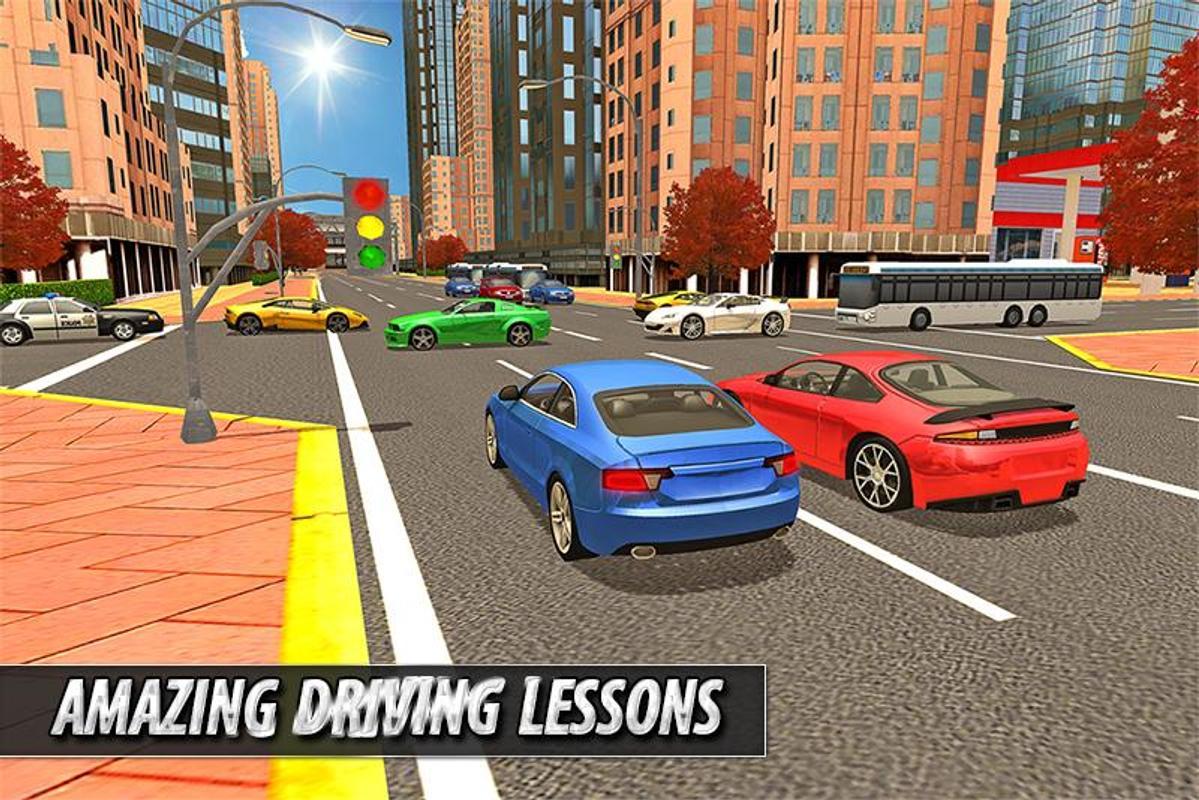 Ultimate car driving school apk download free racing for Motor city driving school