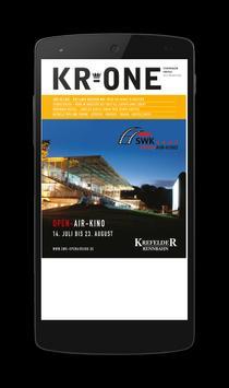 KR-ONE Magazin poster