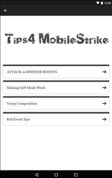 Tips4 Mobile Strike apk screenshot