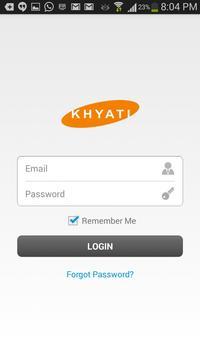Khyati Marketing poster