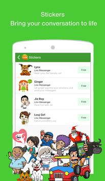LINX: Free Text, Chats & Games apk screenshot