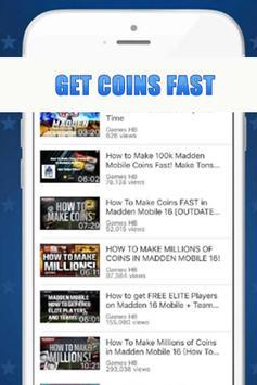 Free Cash for Madden Mobile apk screenshot