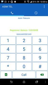 ASIM TEL apk screenshot