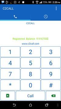 C2CALL apk screenshot