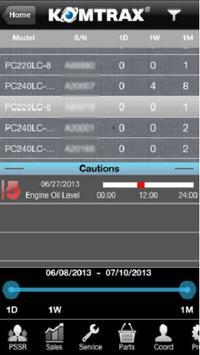 KOMTRAX Mobile apk screenshot