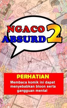 Komik Lucu Ngaco 2: Absurd poster