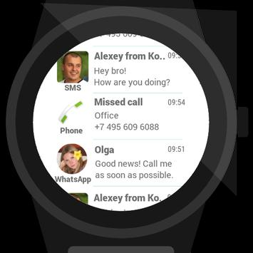 Informer for Android Wear apk screenshot