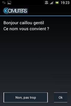 Komuters apk screenshot