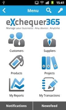 eXchequer365 poster