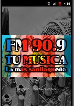 FM TU MUSICA 90.9 poster