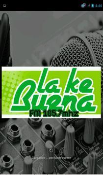 RADIO LA KE BUENA poster