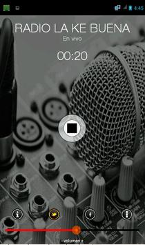 RADIO LA KE BUENA apk screenshot