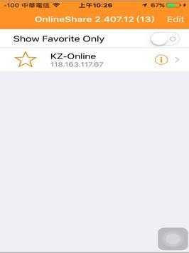 OnlineShare apk screenshot