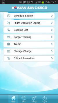 Korean Air Cargo apk screenshot