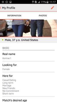 Korina Dating apk screenshot