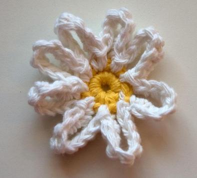 Crochet flower pattern apk screenshot