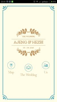 The Wedding - Ajeng & Hezbi poster