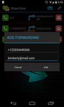 Share SMS apk screenshot