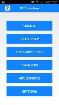 Kpi Inventory poster
