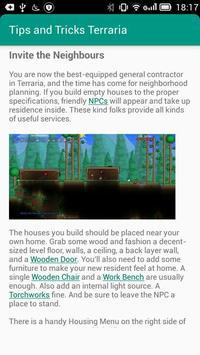 Tips & Tricks for Terraria apk screenshot