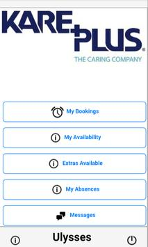 Kareplus Homecare apk screenshot