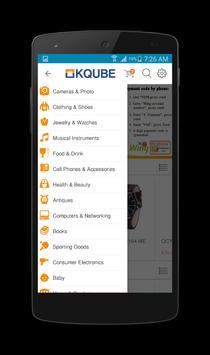 Kqube Shop apk screenshot