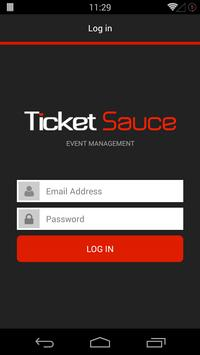 TicketSauce Check-In poster