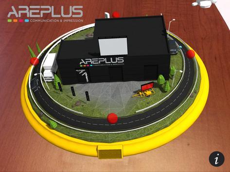 Areplus - Carte de visite apk screenshot