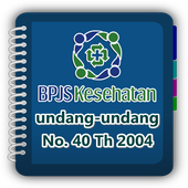 BPJSKesehatan UU No 40 Th 2004 icon