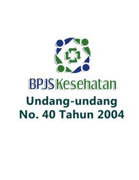 BPJSKesehatan UU No 40 Th 2004 apk screenshot