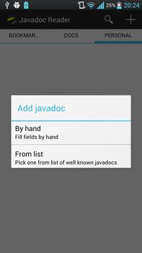 Javadoc Reader Lite apk screenshot