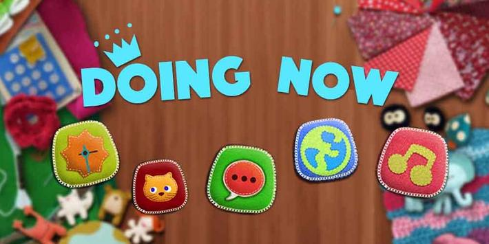 Doing Now Theme poster