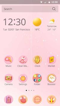 Magic Girl Theme apk screenshot