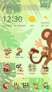 Jungle Monkey Theme poster