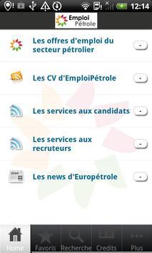 EmploiPétrole apk screenshot
