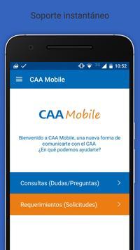 CAA Mobile apk screenshot