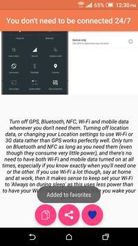 Battery Optimizer Guide apk screenshot