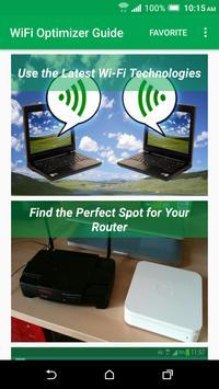 WiFi Optimizer Guide poster