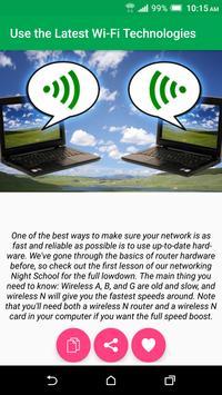 WiFi Optimizer Guide apk screenshot