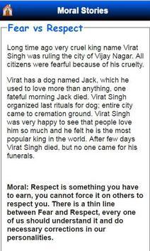 Moral Stories apk screenshot