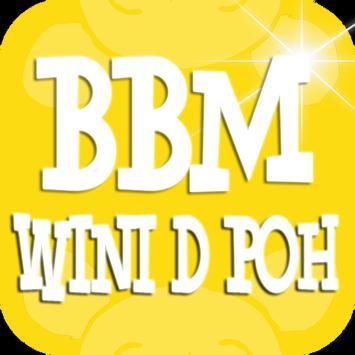 Tema BBM Wini thee Poh poster